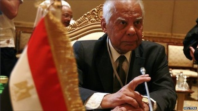 Egypt interim Prime Minister Hazem Beblawi