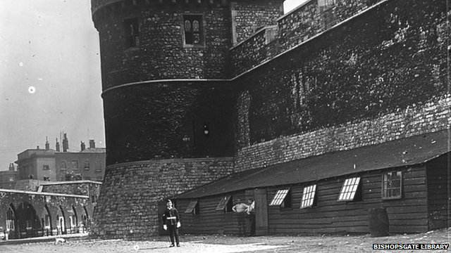 Tower of London firing range in 1910