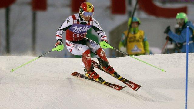 Austria's Marcel Hirscher