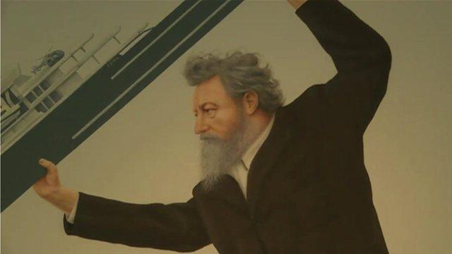 Jeremy Deller's picture of William Morris