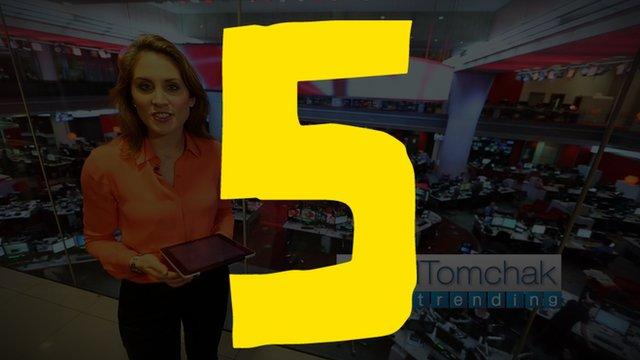 Presenter of BBCtrending