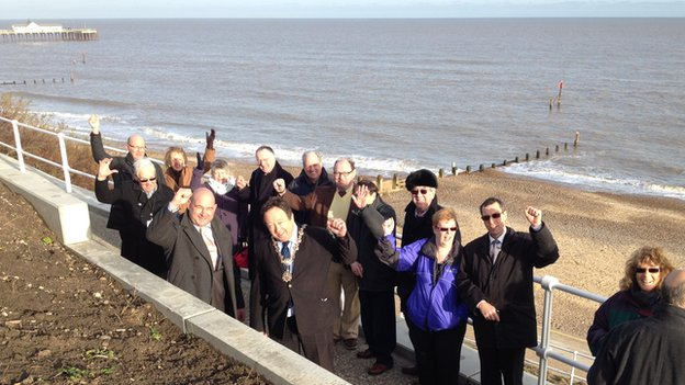 Southwold Ladies Walk reopening