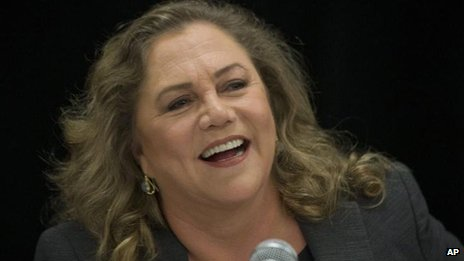 Kathleen Turner to return to West End stageKathleen Turner 2014