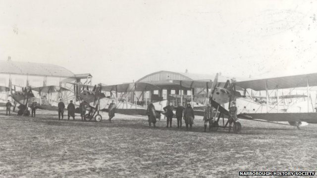 RAF Narborough in 1917