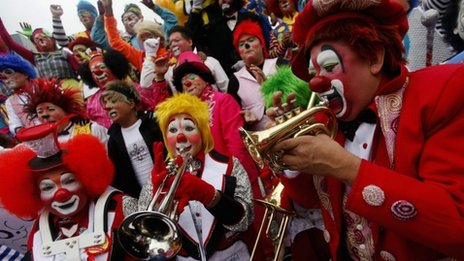 International Clown Convention in Mexico City