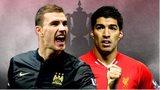Edin Dzeko, Luis Suarez