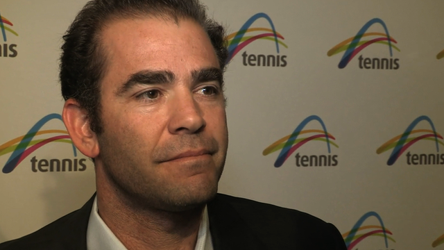 14-time grand slam winner Pete Sampras