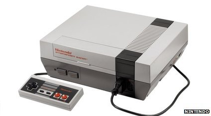 A Nintendo Entertainment System (NES)
