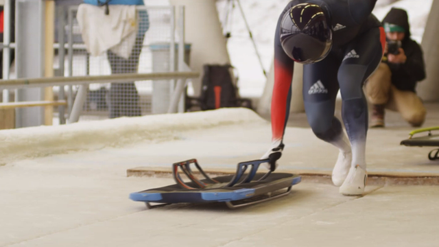 Britain's skeleton World Cup champion Lizzy Yarnold