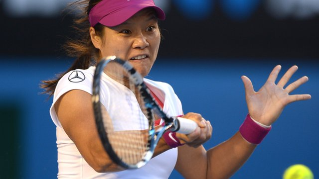 Highlights of Li Na's win over Dominika Cibulkova in straight sets to win the Australian Open title in Melbourne.