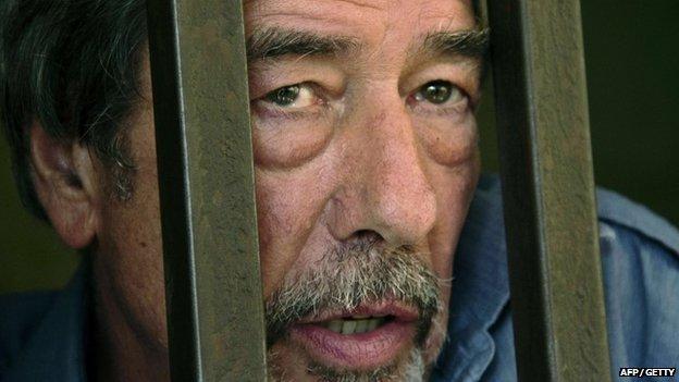 Bernard Randall in custody