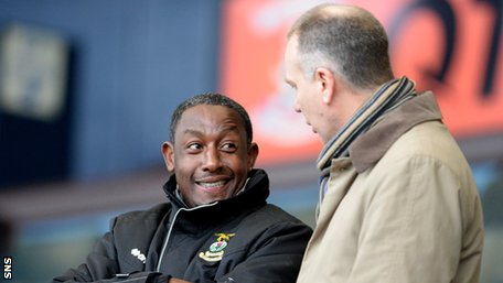 Inverness assistant manager Russell Latapy