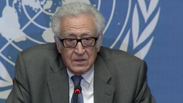 Lakhdar Brahimi, UN-Arab League Joint Special Representative to Syria