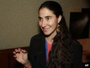 Yoani Sanchez, a dissident blogger from Havana, Cuba, in Oct. 20, 2013.