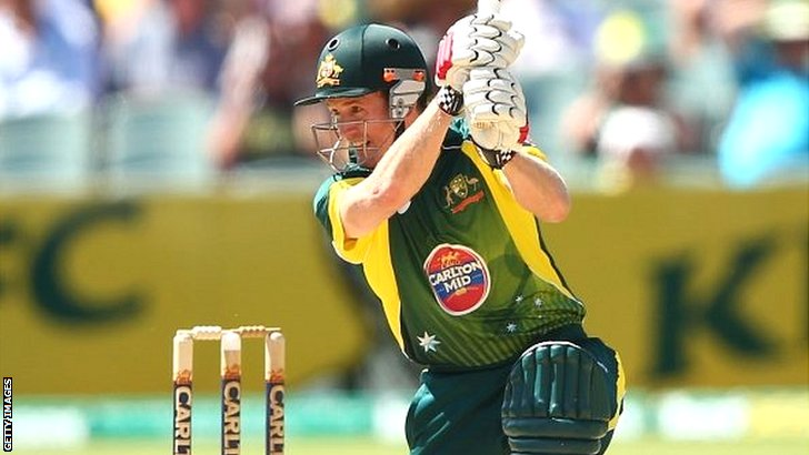 Australia batsman George Bailey keeps the scoreboard moving in Adelaide