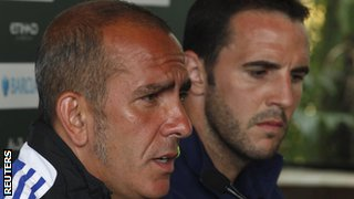 Former Sunderland manager Paolo Di Canio (left) and Black Cats defender John O'Shea