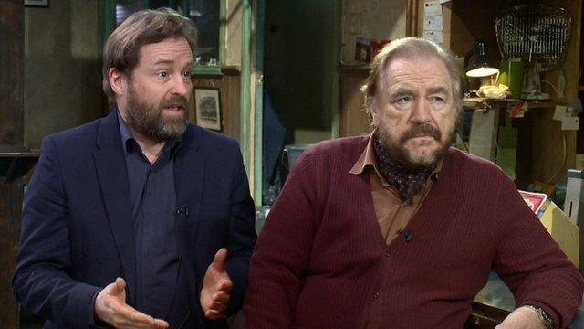 Ardal O'Hanlon and Brian Cox on The Weir