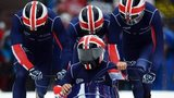 Great Britain's bobsleigh team
