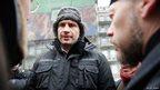 Vitaliy Klitschko in Kiev. Photo: Vincent Mundy