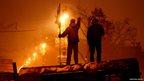 Demonstrators in Kiev on Friday night. Photo: Vashchuk Oksana