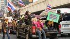A protest parade in Bangkok, Thailand. Photo: Esperanza Guerra Fernández