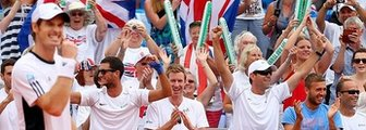 Andy Murray leads Britain's Davis Cup side