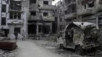 Homs deal at Syria peace talks