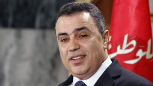 "Tunisia""s Prime Minister Mehdi Jomaa"