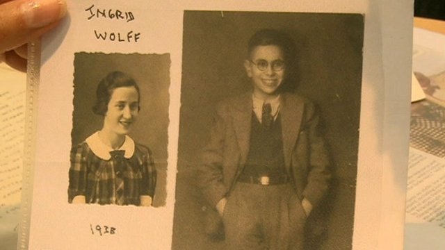Holocaust survivors Ingrid and Henry