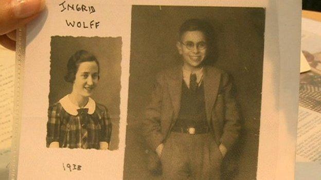 Holocaust survivors Ingrid and Henry