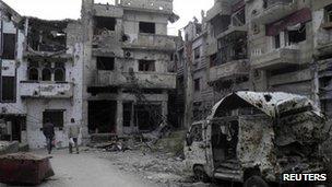 Homs, 25 Jan