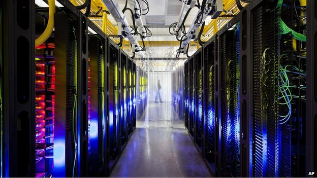 Google data centre (file pic)