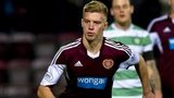 Hearts midfielder Adam King