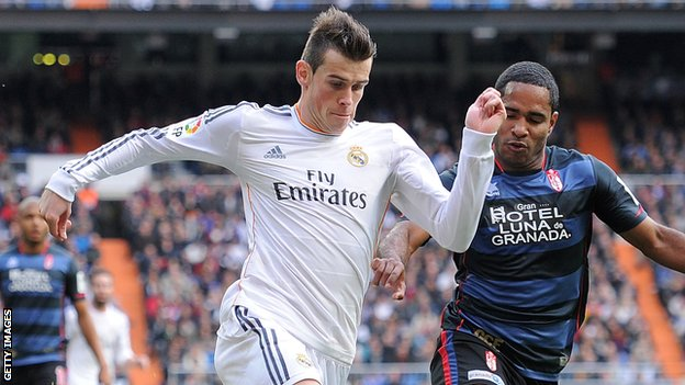 Gareth Bale to miss Real's Cope del Rey game because of injury