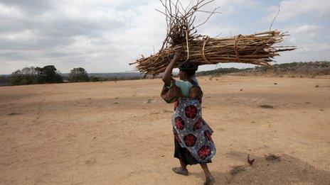 Woman in Malawi (file photo)