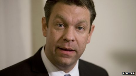Congressman Trey Radel appeared in Cape Coral, Florida, on 20 November 2013