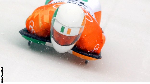 Clifton Wrottesley finished fourth in the skeleton in the 2002 Winter Olympics in Salt Lake City
