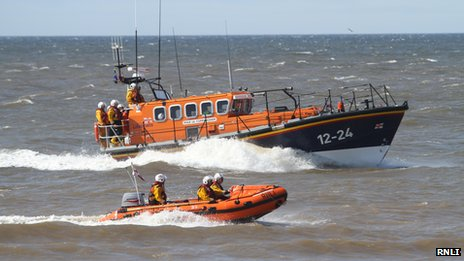 Rhyl inshore and all-weather lifeboat