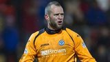 St Johnstone goalkeeper Alan Mannus