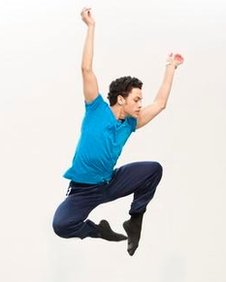 Dane Hurst from the Rambert Dance Company