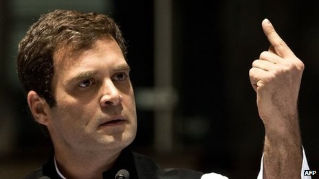 Congress Party Vice President Rahul Gandhi
