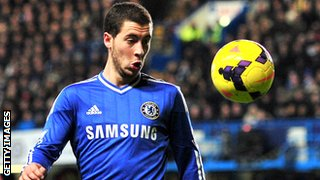 Chelsea's Edin Hazard
