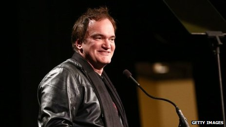 Director/Producer Quentin Tarantino speaks onstage during the 33rd annual Variety Home Entertainment Hall of Fame in Los Angeles, California 10 December 2013