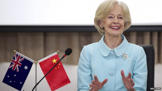 File photo: Australian governor-general Quentin Bryce