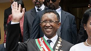Madagascar's President Rajaonarimampianina
