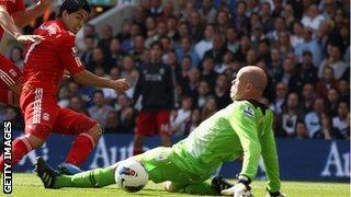 Brad Friedel denies Luis Suarez