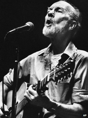 Peter Seeger in 1984