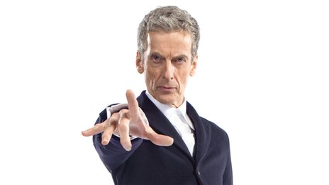 Peter Capaldi as the new Doctor Who