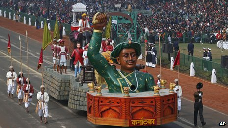 It was this float of tipu sultan that got the debate started on