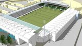 An artist's impression of Northampton Saints' new stand